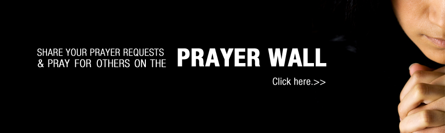 Homepage Header Prayer Wall